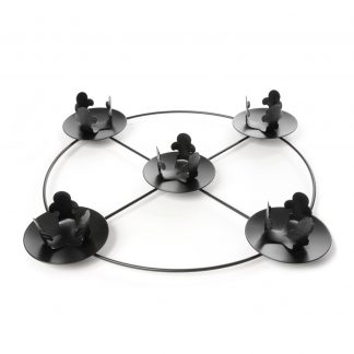 """14"""" Diameter Gothic Style (use with 2"""" dia candles)-0"""