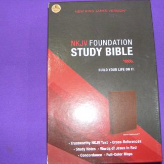 NKJV Foundation Study Bible - Build your Life on it-0