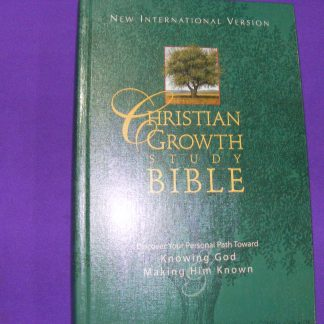 Christian Growth Study Bible-0