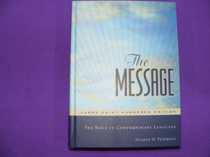 Message Large Print Numbered Edition-0