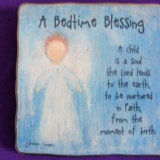 Standing Plaque - A Bedtime Blessing-0