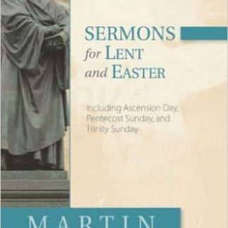 Sermons for Lent and Easter by Martin Luther-0